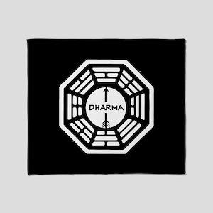 Lost Dharma Arrow Throw Blanket