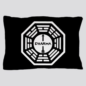 Lost Dharma Arrow Pillow Case
