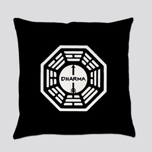 Lost Dharma Arrow Everyday Pillow