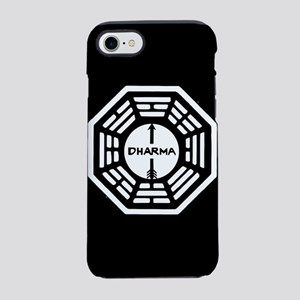 Lost Dharma Arrow iPhone 8/7 Tough Case