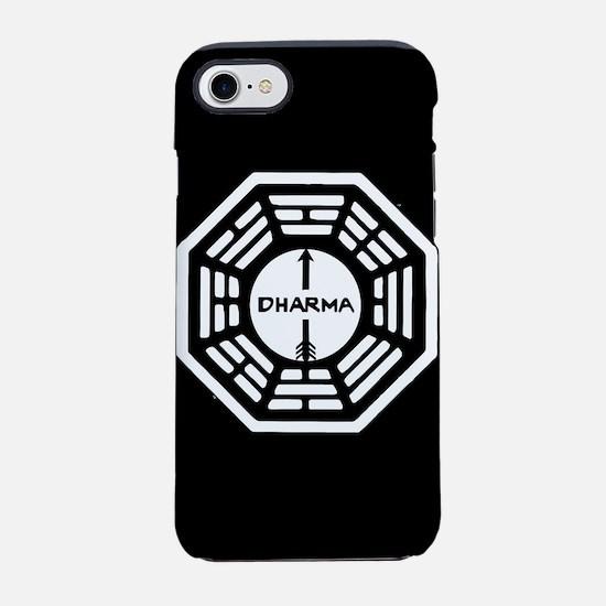 Lost Dharma Arrow iPhone 8/7 Tough Case