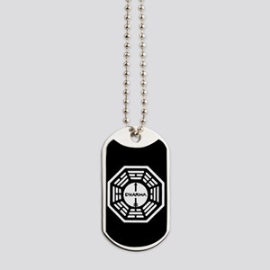 Lost Dharma Arrow Dog Tags