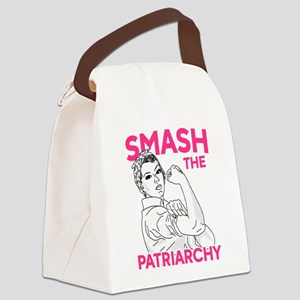 Rosie the Riveter - Smash the Pat Canvas Lunch Bag