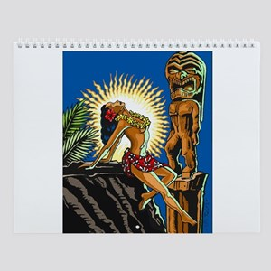"""""""Hawaiian Beauty"""" Wall Calendar"""