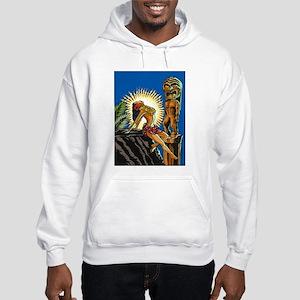 """""""Hawaiian Beauty"""" Hooded Sweatshirt"""