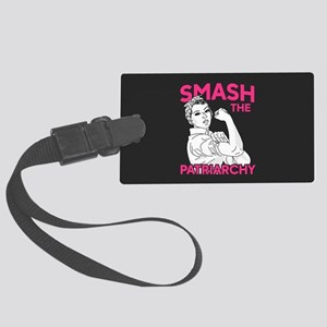 Rosie the Riveter - Smash the Pa Large Luggage Tag