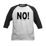 NO! Kids Baseball Jersey