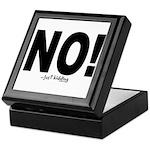 NO! Keepsake Box
