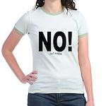 NO! Jr. Ringer T-Shirt