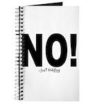 NO! Journal