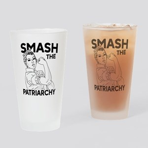 Rosie the Riveter - Smash the Patri Drinking Glass