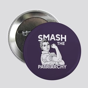 """Rosie the Riveter - Smash t 2.25"""" Button (10 pack)"""