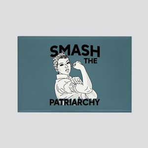 Rosie the Riveter - Smash the Pat Rectangle Magnet