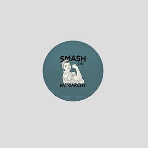 Rosie the Riveter - Smash the Patriarc Mini Button