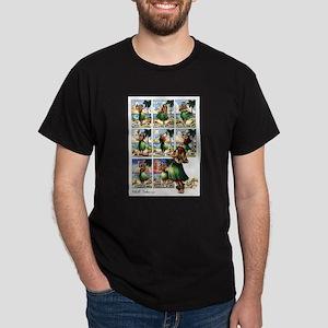 """""""Hawaiian Hula Song""""- Black T-Shirt"""