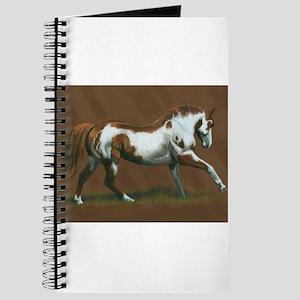 Beautiful Paint Horse Journal