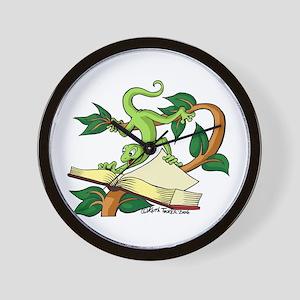 Gecko wild & carzy Wall Clock