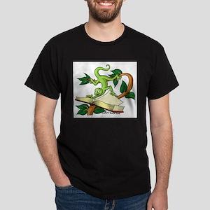 Gecko wild & carzy Black T-Shirt