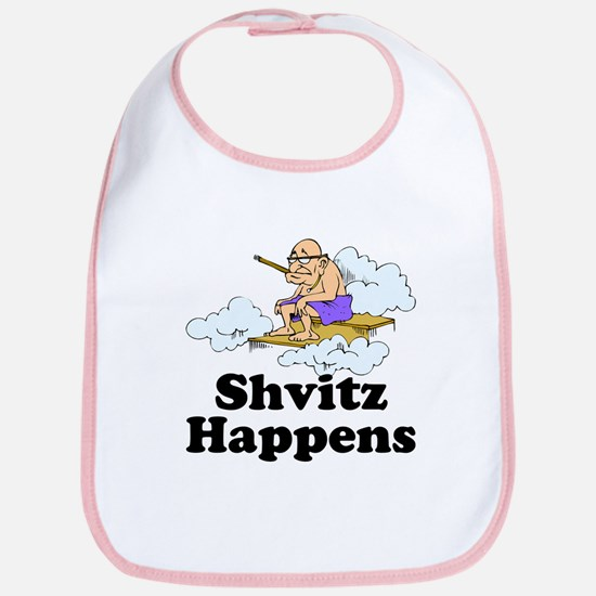 Shvitz Happens Bib