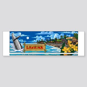 Lahaina, Maui Bumper Sticker