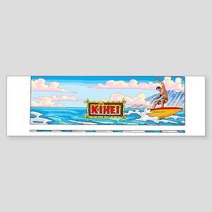 surfing on Maui Bumper Sticker