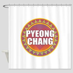 Peyong Chang Shower Curtain