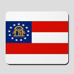 Georgia Georgian Blank Flag Mousepad