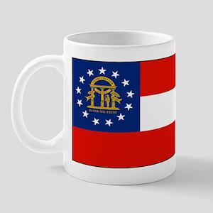 Georgia Georgian Blank Flag Mug