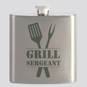 Grill Sergeant Flask