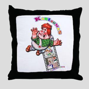 Karlsonas Throw Pillow