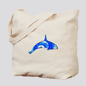 THE CARIBBEAN ORCA Tote Bag