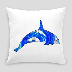 THE CARIBBEAN ORCA Everyday Pillow
