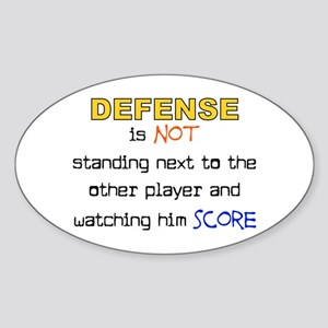 Message for the Defense Oval Sticker