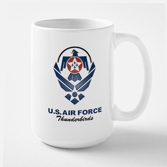 USAF Thunderbirds Diamond Large Mug