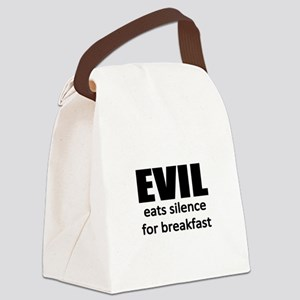 discrimination Canvas Lunch Bag