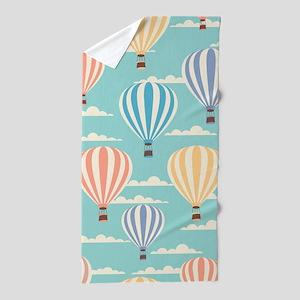 Balloons in Air Beach Towel