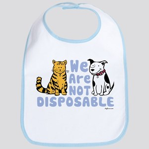 We Are Not Disposable Bib