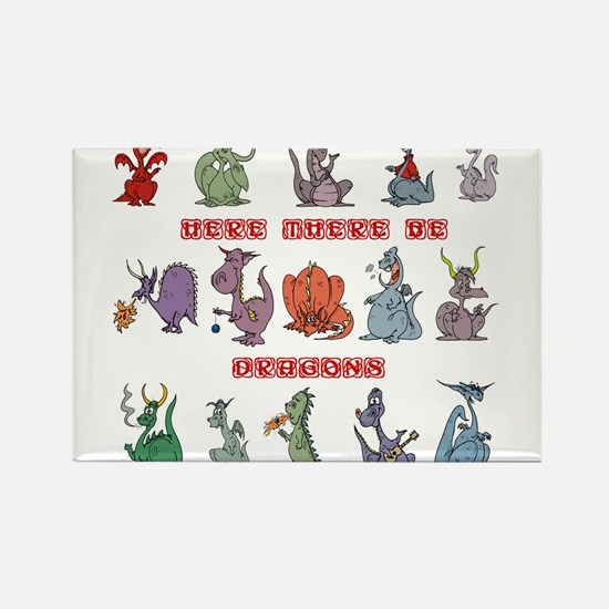 Dragons Magnets