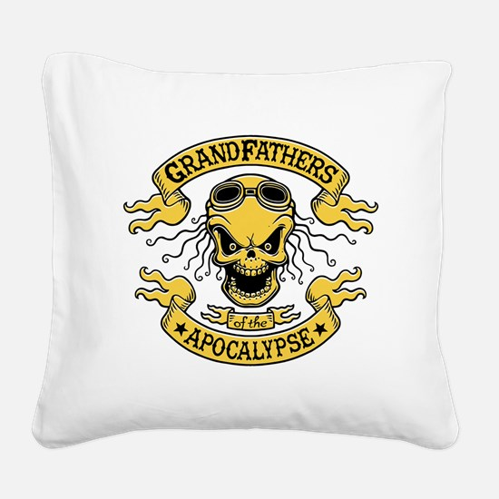 Gramps of the Apocalypse Square Canvas Pillow