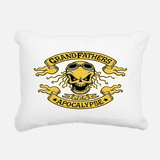 Gramps of the Apocalypse Rectangular Canvas Pillow
