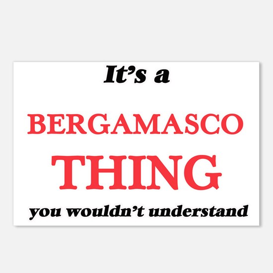 It's a Bergamasco thi Postcards (Package of 8)