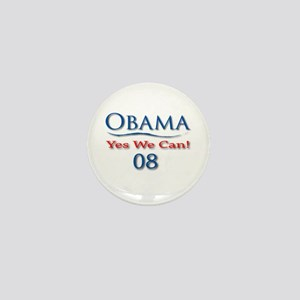 Obama Yes We Can Mini Button (10 pack)