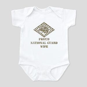 ARKANSAS NATIONAL GUARD 3 Infant Bodysuit