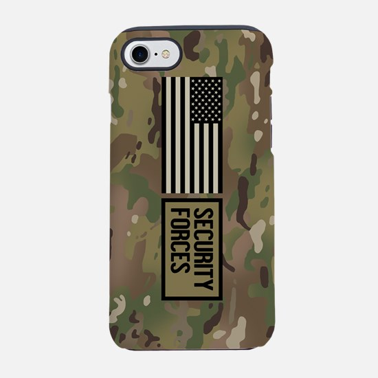 U.S. Air Force: Security For iPhone 8/7 Tough Case