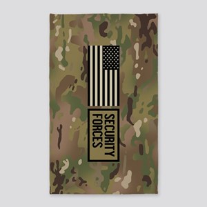 U.S. Air Force: Security Forces (Camo) Area Rug