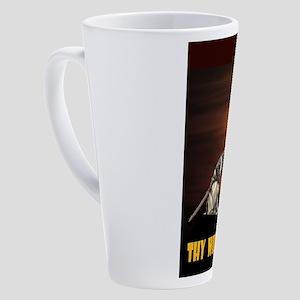 TEMPLAR 17 oz Latte Mug