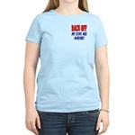 Back off My Sons are Marines Women's Light T-Shir