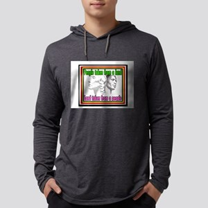 Black American Native American Long Sleeve T-Shirt