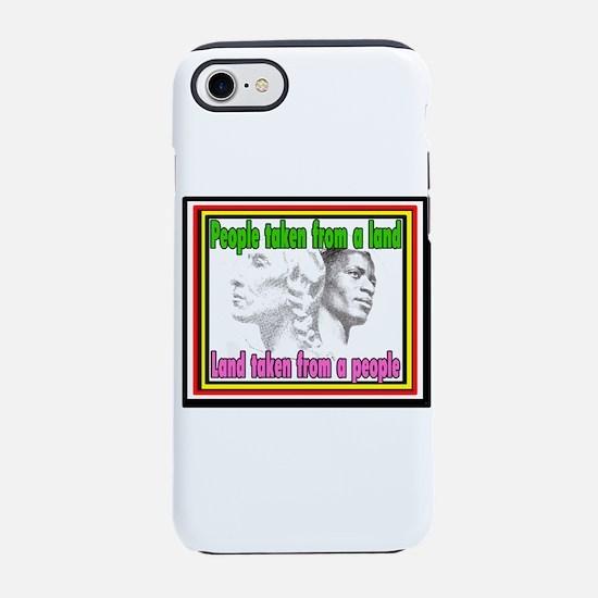 Black American Native Americ iPhone 8/7 Tough Case