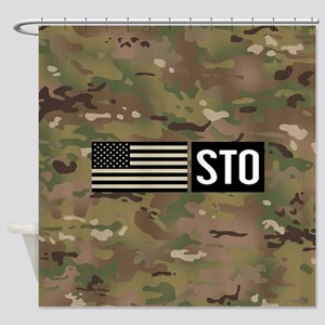 U.S. Air Force: STO (Camo) Shower Curtain